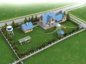 Как выбрать участок под строительство каркасно-модульного дома