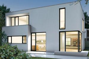 Остекление каркасно-модульного дома
